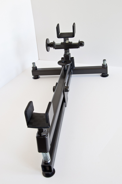 Elevation and windage shooting rig